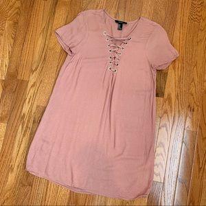 Forever 21 Rose Pink Dress Size Medium